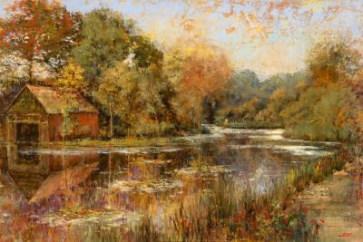 Autumnal Reflections-Michael Longo-Art Print