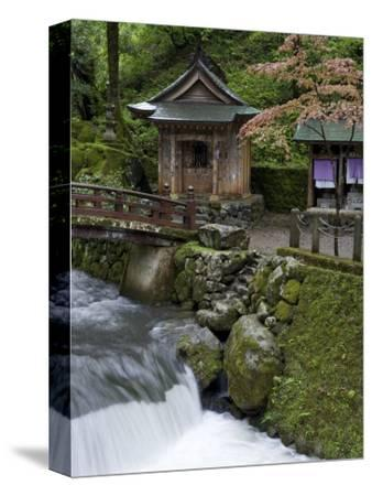 Auxillary Shrine at Eiheiji Temple, Headquarters of the Soto Sect of Zen Buddhism, Fukui, Japan