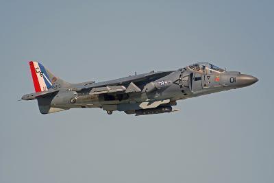 Av-8B Harrier Flying over Nellis Air Force Base, Nevada-Stocktrek Images-Photographic Print