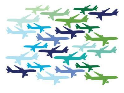 Airplane Pattern by Avalisa