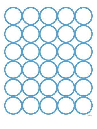 Blue Circles by Avalisa