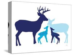 Blue Deer by Avalisa