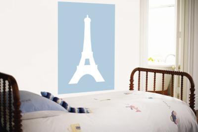 Blue Eiffel Tower