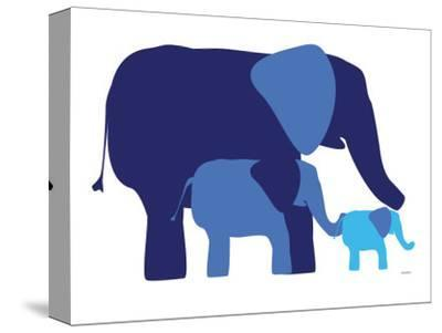 Blue Elephants by Avalisa
