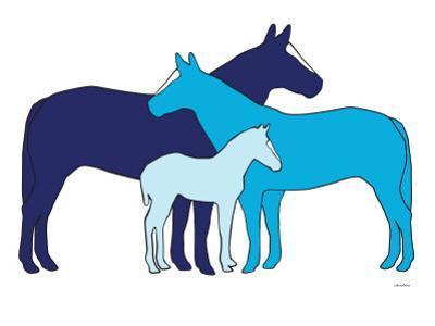 Blue Herd by Avalisa