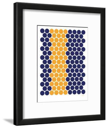 Blue Orange Dots