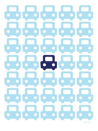 Blue Parking Lot