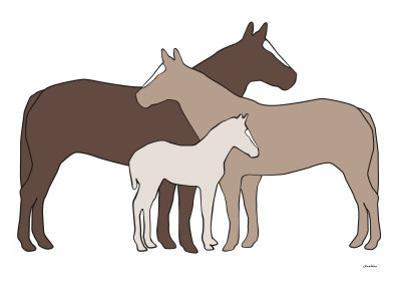 Brown Herd by Avalisa