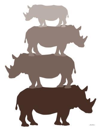 Brown Rhino by Avalisa