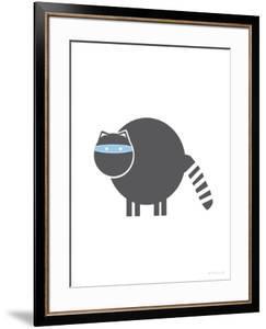 Charcoal Raccoon by Avalisa