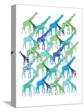 Cool Giraffe Pattern by Avalisa