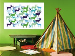 Deer Pattern by Avalisa