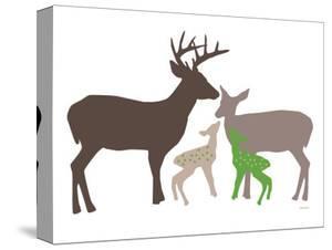 Green Deer by Avalisa