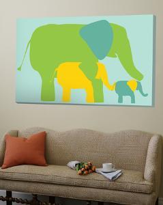 Green Elephants by Avalisa