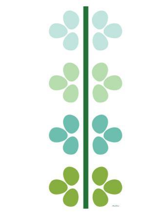 Green Flower Stem by Avalisa
