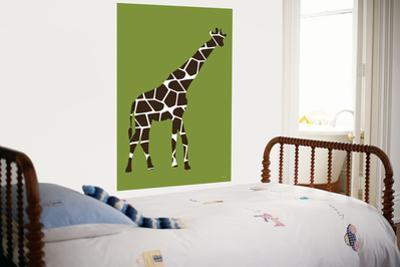 Green Giraffe by Avalisa