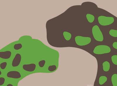 Green Jaguars by Avalisa