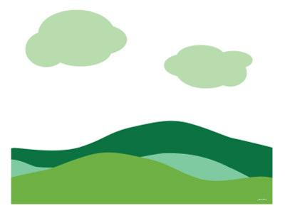 Green Landscape by Avalisa