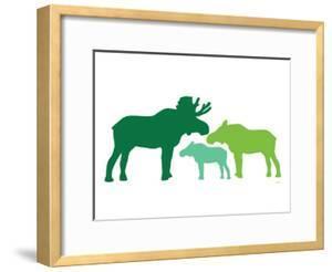 Green Moose by Avalisa