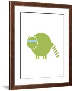 Green Raccoon by Avalisa