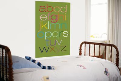 Green Rainbow Alphabet