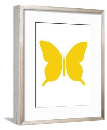 Large Yellow Butterfly