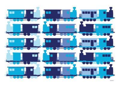 Multi Train Blue