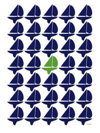 Navy Green Regatta