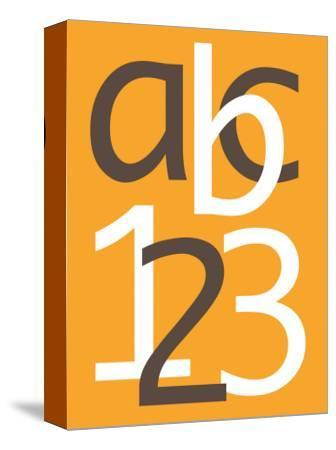 Orange ABC and 123