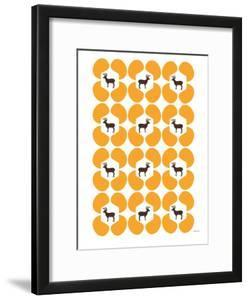 Orange Deer Hoof by Avalisa