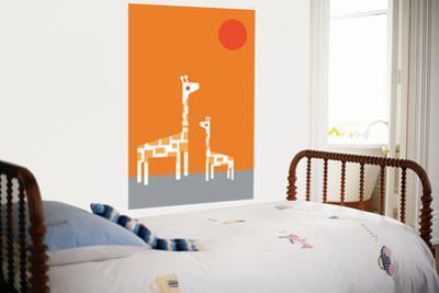Orange Giraffe by Avalisa
