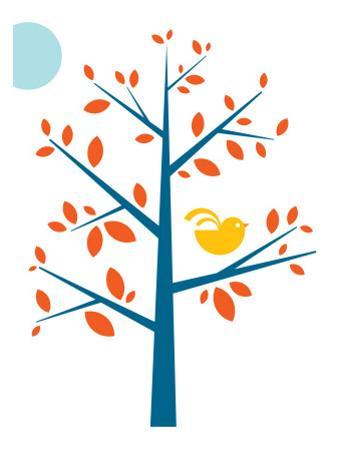 Orange Songbird by Avalisa