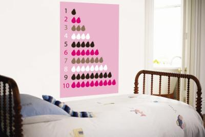 Pink Counting Pears