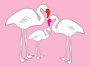Pink Flamingo by Avalisa