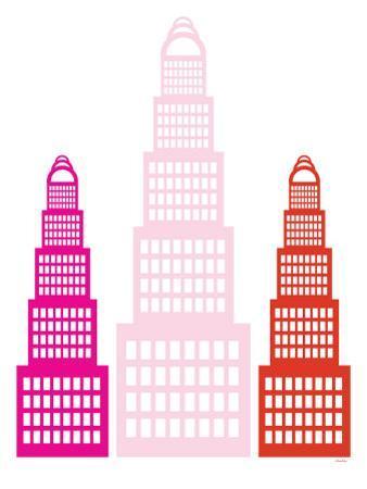 Pink Sky Scrapers by Avalisa