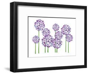Purple Allium by Avalisa