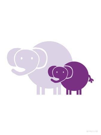 Purple Baby Elephant