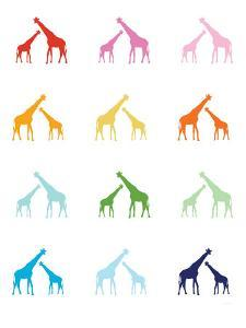 Rainbow Giraffes by Avalisa