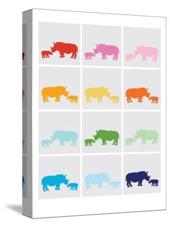 Rainbow Grey Rhinos