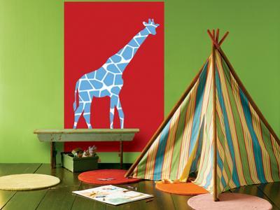 Red Giraffe by Avalisa