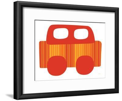 Red Stripe Car