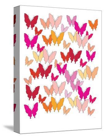 Warm Butterfly Pattern