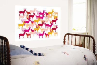 Warm Deer Pattern