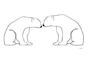 White Polar Bears by Avalisa