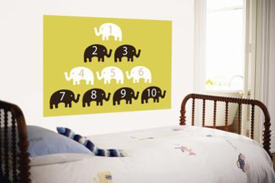 Yellow Counting Elephants
