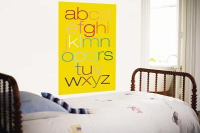 Yellow Rainbow Alphabet