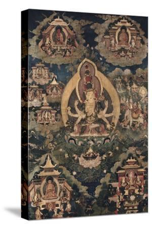 Avalokiteçvara, sous son aspect Ekâdaça-mukha