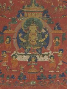 Avalokiteçvara sous son aspect Sadaksarî