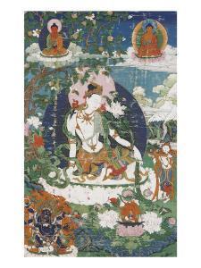 Avalokitesvara, sous son aspect Padmapâni