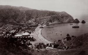 Avalon Harbor, Santa Catalina Island, California 1885